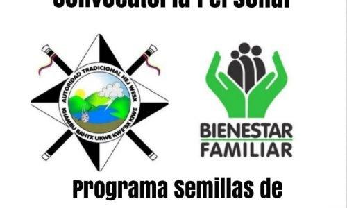 CONVOCATORIA EXCLUSIVA PARA EL MUNICIPIO Y RESGUARDO DE JAMBALO CAUCA, PERSONAL REQUERIDO PARA EL PROGRAMA SEMILLAS DE VIDA MODALIDAD FAMILIAR DIMF.